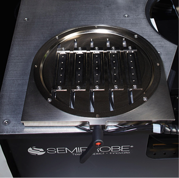 Double Sided Probing Chip Carrier for Testing Individual Die