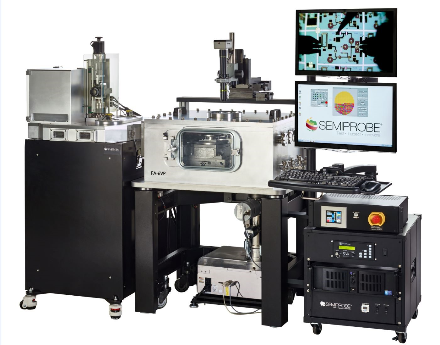 Fully Automated Vacuum Prober for MEMS Testing