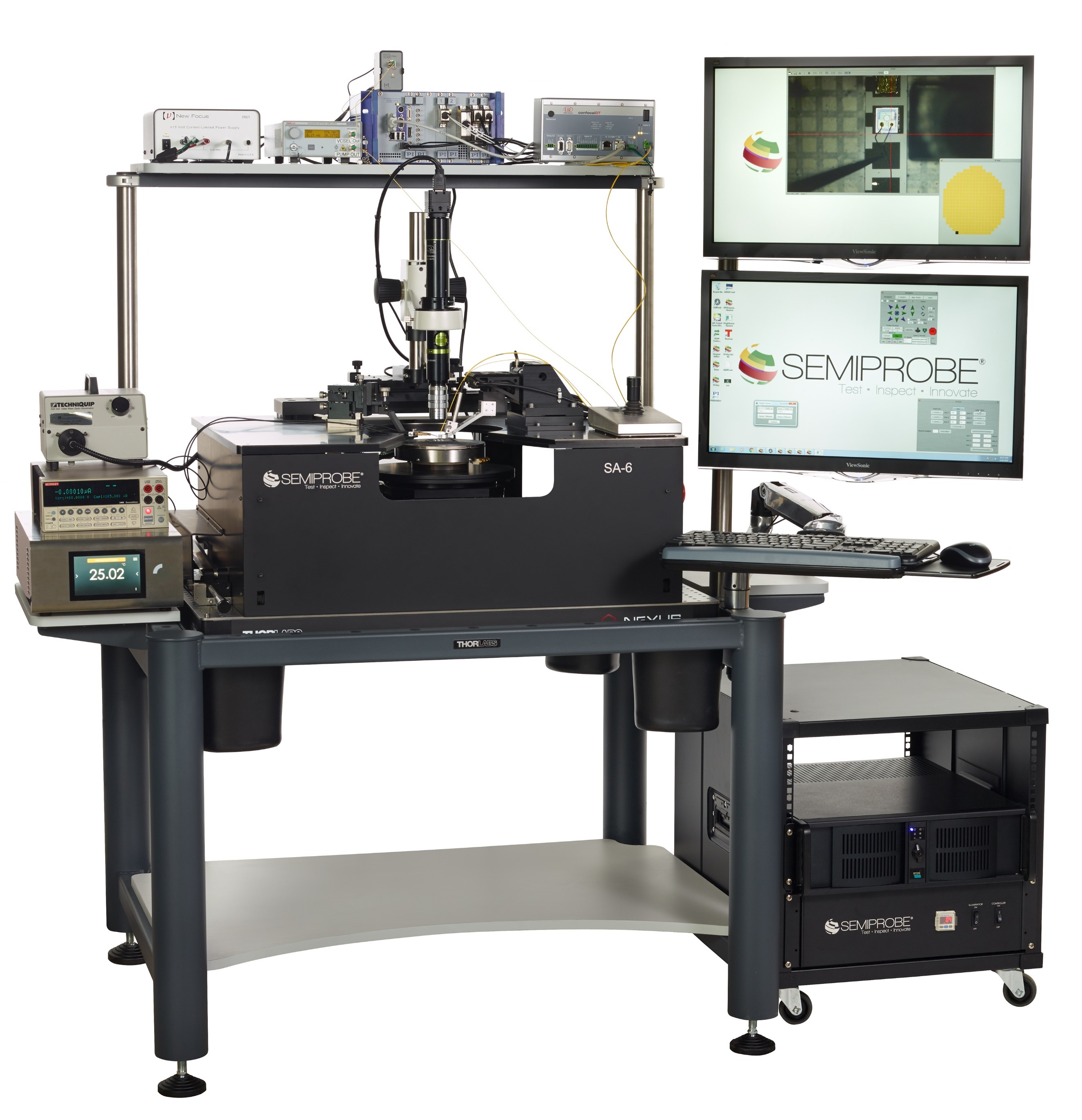 Optoelectronic Wafer Prober VCSELS
