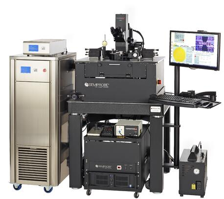 Wafer Probe System with a Localized Environmental Chamber