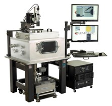 High Power High Vacuum Wafer Probe System