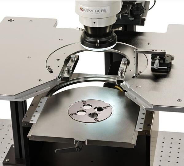Double - Sided Optoelectronics Wafer Test System