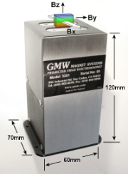 Typical Magnet used in Magnetic Stimulation System