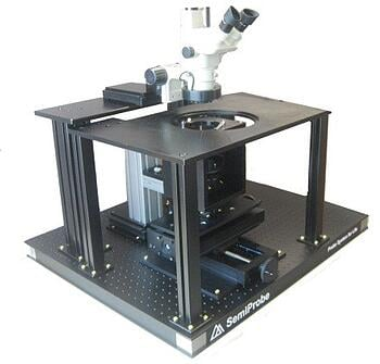 Manual Magnetic Stimulation Wafer Probe Station