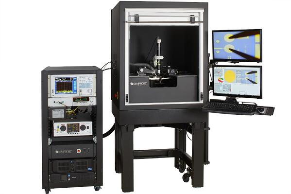Double-sided Optoelectronics Semiautomatic Wafer Prober