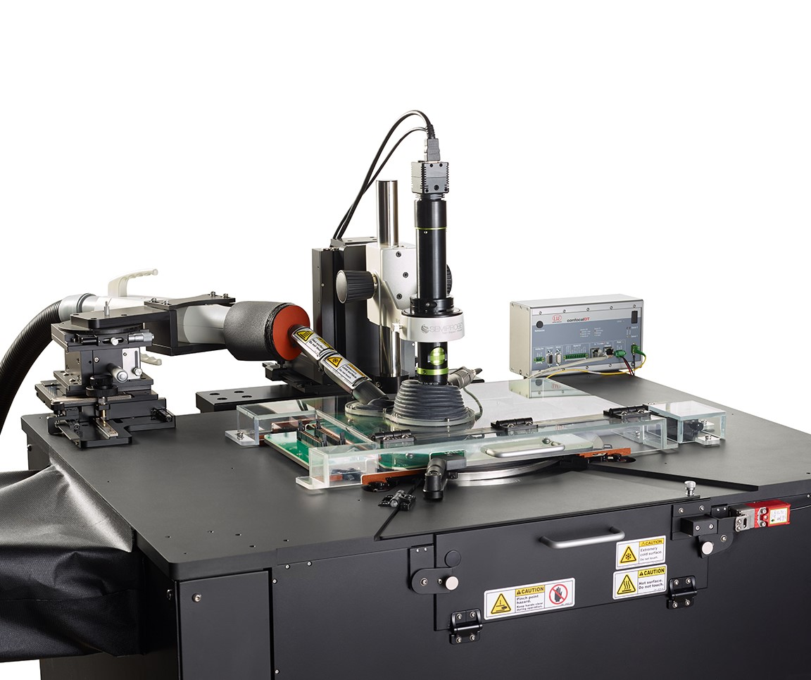 Fully Automatic Double-Sided Optoelectronics Wafer Test System